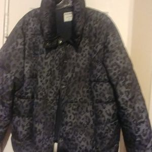 Old Navy Jackets & Coats - leopard print winter coat